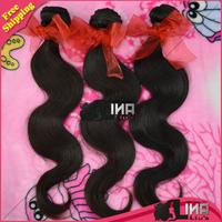 "3pcs/lot malaysian virgin hair body wave hair extension rosa hair products unprocessed hair natural color 12""-30""Free shipping"