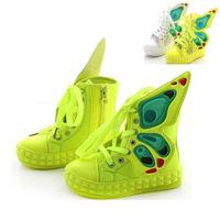 Fashion Brand Girls Sandals 2014 New Summer Designer Children Summer Shoe For Kids Girl Butterfly Wing Children's Girls' Sandal