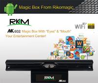RKM Android4.1 Magic Box RK3066 1.6GHz Cortex A9 1G RAM 8G ROM Ethernet Mic /Mic+bluetooth wifi HDMI TF Card(MK602)