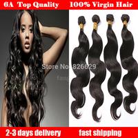 Peruvian virgin hair body wave queen hair products 3pcs lot Grade 6A 100% human hair weave mocha hair Free shipping