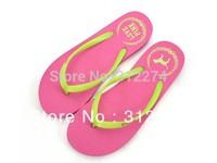 Hot Sale PINK Flip Flops Slippers Flat  Comfortable Summer Beach Shoes, Casual Sandals For Women