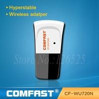 Mini USB 150Mbps 802.11n/g/b wifi Adapter wireless signal Receiver/Emitter Comfast WU720N