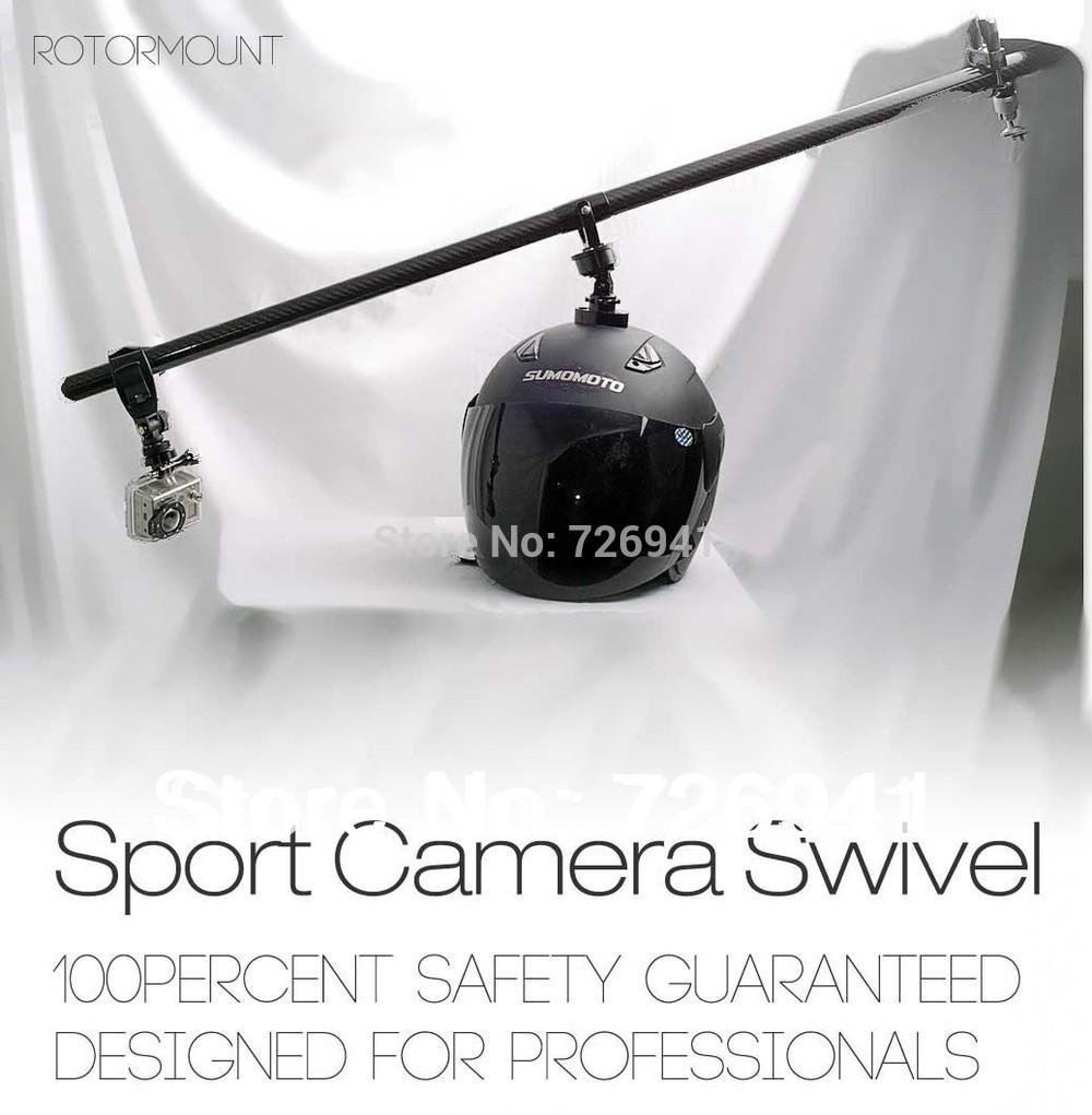Action Movie Sport Camera Gopro Hero 2 Hero 3 360 degrees Swivel Helmet Mount free shipping(China (Mainland))