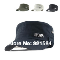 2013 New men's & women's polo baseball hat/Fashion Army sport hat/outdoor travel sun cap/letter pattern 10 colors Wholesale