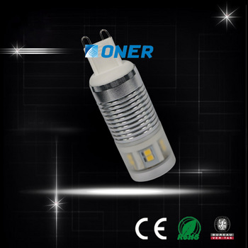g9 led 4w AC200-240V 320lm best replace the halogen g9 bulbs warm white with free shipping