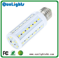 LED corn lamp 5630 5730 SMD 60pcs light 15w E27 B22 E14 bulb CE Rohs UL