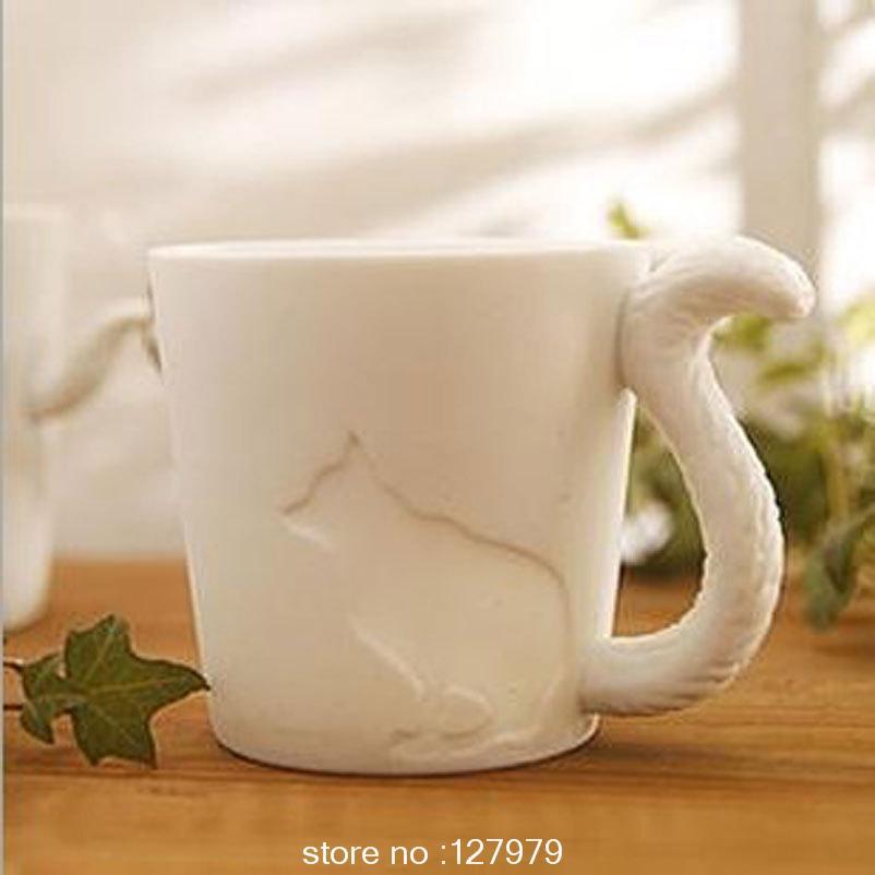 Japan and South Korea creative animal trade coffee mug   ceramic mug    Japanese Ceramic Mugs