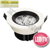 NEW 4pcs/lot High Quality 7w LED Downlights Epistar AC85-265V Acrylic lens 2 years warranty Sufficient power