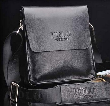 Promotion New 2014 fashion retro PU&genuine leather men shoulder bag,men messenger bag,business&leisure bag,for gift