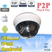 NEO COOLCAM P2P Plug and play Dome camera wireless IP camera night vision indoor wifi ip cam ir range 50m and motion detection