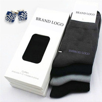 Hotselling High Quality!!! 5pairs/Lot Brand Designer Classic Business Men Cotton Socks( NO BOXER Package) Wholesale
