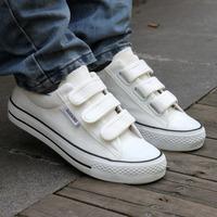 women or men casual velcro canvas shoes women's lovers' leisure walking  shoes sneakers