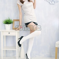 Women Stockings Over The Knee Socks Thigh High Cotton Sock Thinner 3 Colors Black, White, Grey ,free shipping 3226