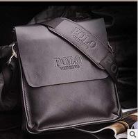 Hot !!! Promotion New Fashion Retro Genuine Leather Men Shoulder bag Messenger Bag Business fit & leisure fit bag Black & Brown