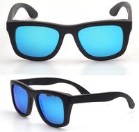 Free shipping wooden eyeglass frames polarized sunglasses men and women retail and wholesale 2013 design brand eyewear (WA06)