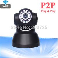 Wireless IP Camera  Wifi Camera With TF Card Slot PTZ WIFI CCTV Camera P2P IR Night Vision Security Camera