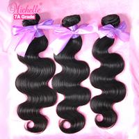 Evas Hair Products Eurasian Body Wave, On Sale 6A Unprocessed Eurasian Virgin Hair,3.5 oz/Bundle Virgin Eurasian Hair Extension