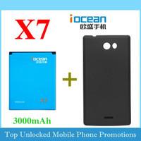 iocean X7 Original accessory 3000mah 2000mah battery accumulator / Desktop Charger / battery cover case / phone case Free ship