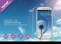 High Quality screen protector for  samsung galaxy s3/i9300,100pcs front screen guard +100pcs clean cloth