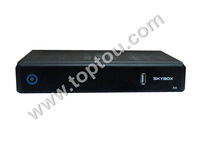Free Shipping Original skybox A6 HD Digital Satellite Receiver Support USB wifi  CCcam, Newcam, Mgcam