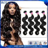 6A Grade Unprocessed Peruvian Hair Body Wave 100% Virgin Peruvian Hair 4pcs/lot