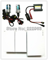 Free Shipping 50sets/Lot High Quality 35W HID Xenon Kit H1 H3 H4 H7 H8 H9 H10 H11 9005 9006 DC Slim ballast via Express way