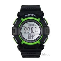 Sunroad FR711A-1 30m Waterproof Digital EL Backlit Fishing Barometer Altimeter Thermometer Watch Free Shipping