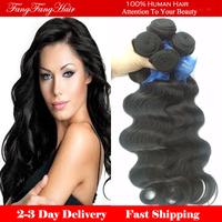 Brazillian Virgin Hair body Wave 3pcs lot  brazilian virgin hair gaga hair  Rosa  hair Free Shipping