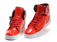 2014 RED New Justin bieber men Brand designer high top Fashion sneakers shoes for men