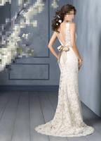 2014 fishtail wedding   Princess Wedding Band New wedding dress mermaid Wedding Lace Bra