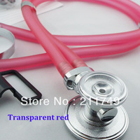 Free shipping Multifunction Double tube stethoscope colored stethoscope, professional stethoscope,medical stethoscope