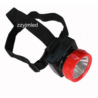 NEW LED HENGDA  LD-4625 Cordless LED Headlight Headlamp With Rechargeable Batteries