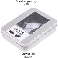Free shipping,New Arrival Mini USB 5M  2.0 Waterproof Endoscope Borescope Snake Inspection Camera 5M,10mm,2 pcs /lot