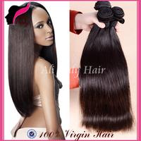 "Rosa Hair Products Malaysian Virgin Hair Straight 3Pcs Lot,Malaysian Straight Hair Weaves 8""-30""Human Hair Extension Can Be Dyed"