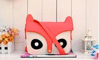 Women Fashion PU Leather Cute Cartoon pattern  Shoulder messenger Bag Handbags
