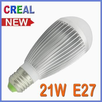 New 21W E27 led  light bulbs warm white energy saving bubbl ball globe light bulb lamps
