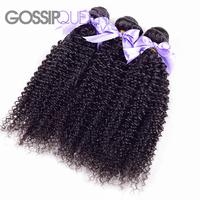 "cheap 5A peruvian virgin hair 3 pcs free shipping peruvian curly hair human hair weave 8""-30"" afro kinky curly hair weave"