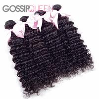 "6A grade malaysian virgin hair deep curly 4 pcs free shipping 8""-30"" malaysian curly hair  human hair weave"