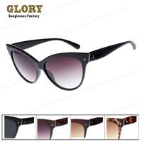 New 2014 Oversized Women Cateye Sunglasses Designer Brand Vintage Sun glasses Fashion Female Outdoors Butterfly Oculos De Sol