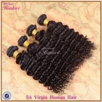 """peruvian virgin hair Deep Wave 4pc 8""""-30"""" Human Hair Weave Peruvian Curly Hair Extension 5a unprocessed virgin peruvian hair"""