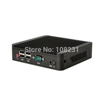 free shipping intel mini pc cpu 1037U Dual-Core,mini pc server windows embedded,micro pc mini computer QOTOM-Q100 2G RAM 16G SSD