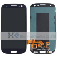 S3 i9300 LCD Display Touch Screen Digitizer Assembly For Samsung GALAXY, i535,i747,L710,R530,T999 Replacement,Blue Free Shipping