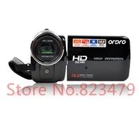 "Ordro HDV-Z15 1080P HD digital video camera 3.0"" Touch screen 16X Digital zoom 16MP Digital Camera Free Shipping"