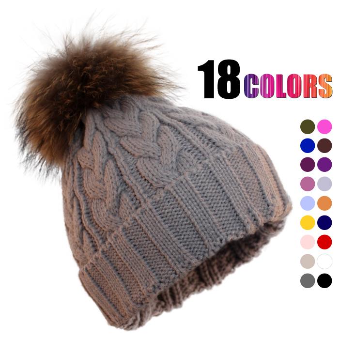 2014 girls Latest real fur snow Cap Winter hats for women cute fashion woolen knitted girls head wear beanies woolen hats & caps apparel & accessories(China (Mainland))