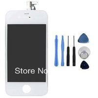 DHL free shipping 3pcs/lot Full Assembly LCD Screen with Touch Digitizer  +Tools Set  for iPhone 4 4G