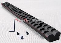 "Hunting Accessories 257mm 10.12"" X 0.78"" Long Weaver Rail Picatinny Rail 3 Screws Wrench For Shotgun Rifle Scope"