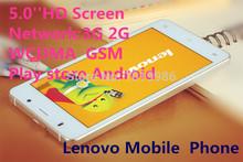 """Original Lenovo Phone Android 4.2 Mobile Phone MTK6592 Otca Core 3G GPS 13MP 5.0"""" IPS 2G ram 16G rom Unlocked Smartphone(China (Mainland))"""
