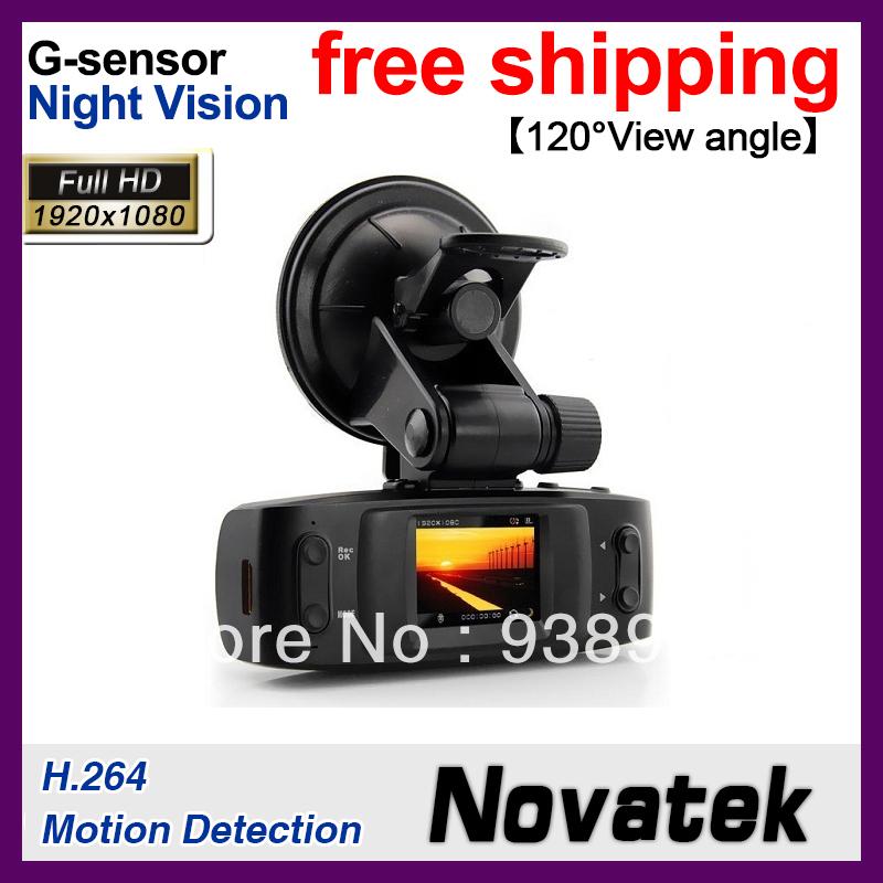 Car DVR Car Camera Video Recorder Cam Video Registrator G-sensor+H.264+Night Vision(GS1000)(China (Mainland))
