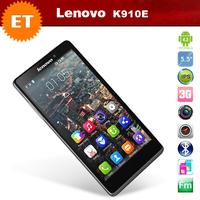 Lenovo K910 K910E quad core cell phones 5.5 inch FHD 1920x1080 Snapdragon 800 2.0GHz 2GB RAM 16GB 13.0 MP Camera WCDMA