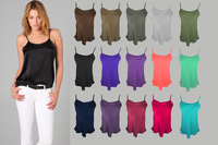 Silk Camisole-L Size/100% Natural Silk Fabric/Silk Underwear/Womens Tops Camisole Casual T-shirt/Factory Direct Wholesale